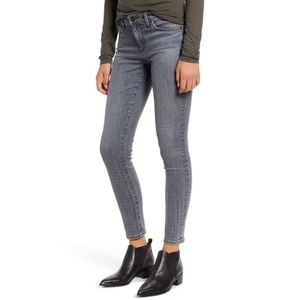 AG Ombre Plaid The Legging Ankle Super Skinny Jean